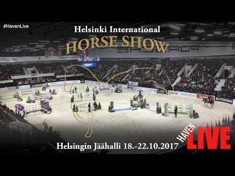 Helsinki International Horse Show 18-22.10.2017  - Day 2 - Thu (1/2)