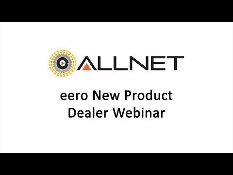 eero New Product Dealer Webinar 2017-07-11