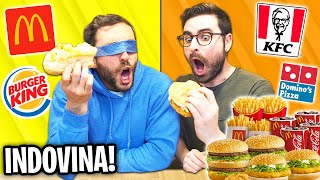 INDOVINA IL FAST FOOD CHALLENGE! con Murry!
