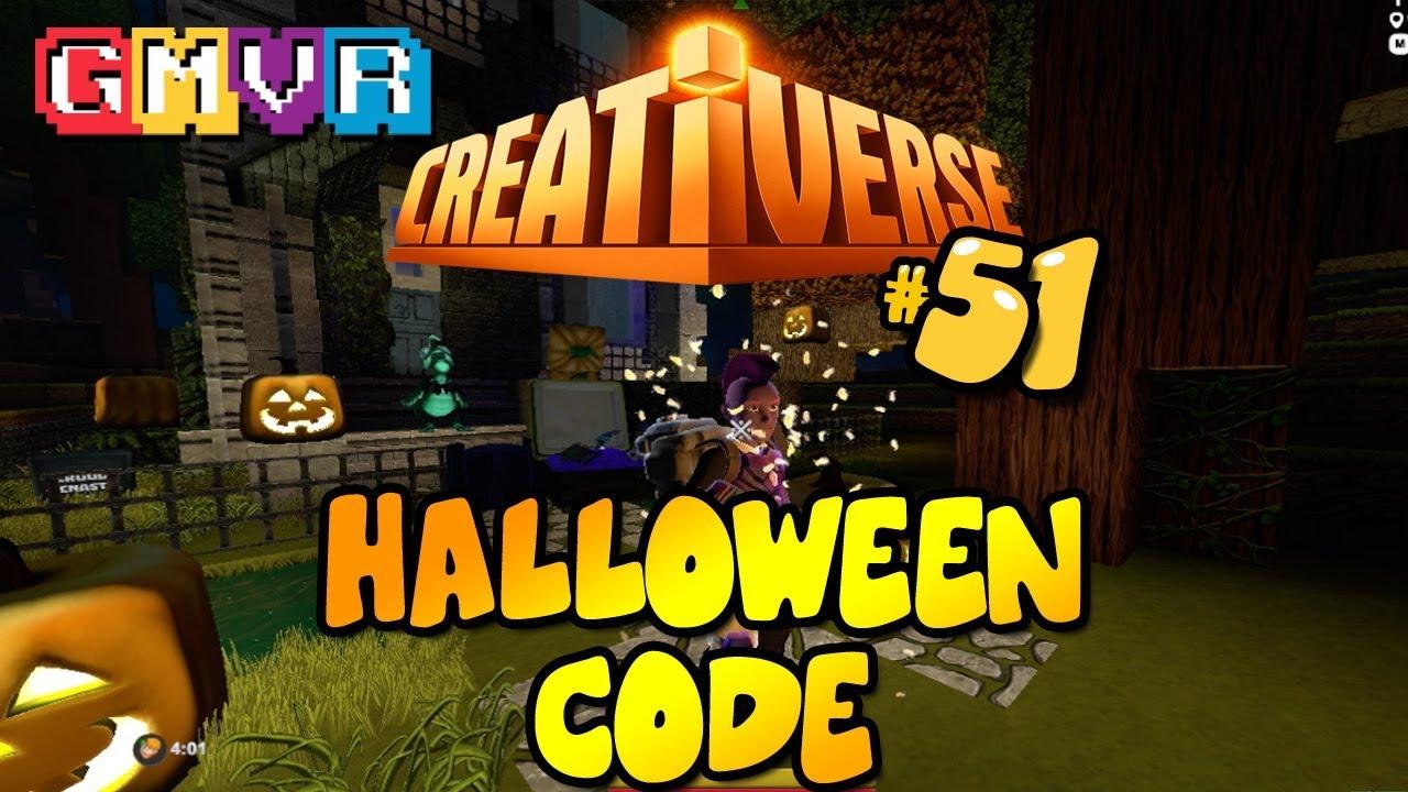 creativerse halloween redeem code - youtube
