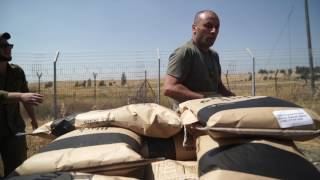 Transfer of Food from Israel to Syria