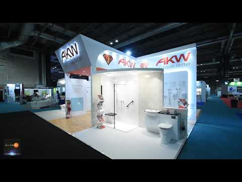 Global Displays - AKW @ The Occupational Therapy Show Walkthrough