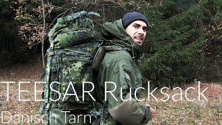 Teesar Rucksack 100 L Dänisch Tarn [Review]   Outdoor AusrüstungTV