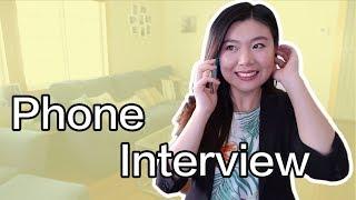 用流利的英语电话面试 | Phone Interview English