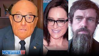 Rudy Giuliani rages on Kennedy, Jack Dorsey
