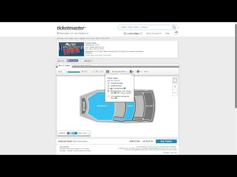 How to use Ticketmaster promo codes and coupons: After you've selected an event, look for a field labeled