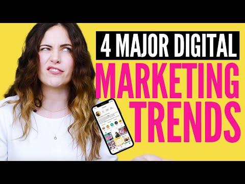 Top 4 Social Media & Digital Marketing Trends