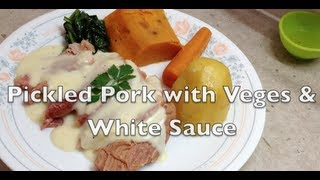 Pickled Pork & Vegetables pressure cooker video recipe cheekyricho