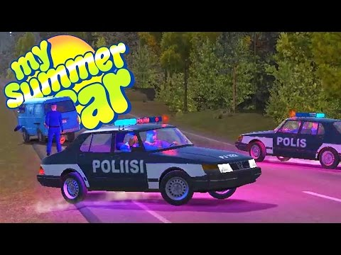 GRAND THEFT FINLAND! We Learn to Fly + More Police Chases! - My Summer Car Gameplay Highlights Ep 55