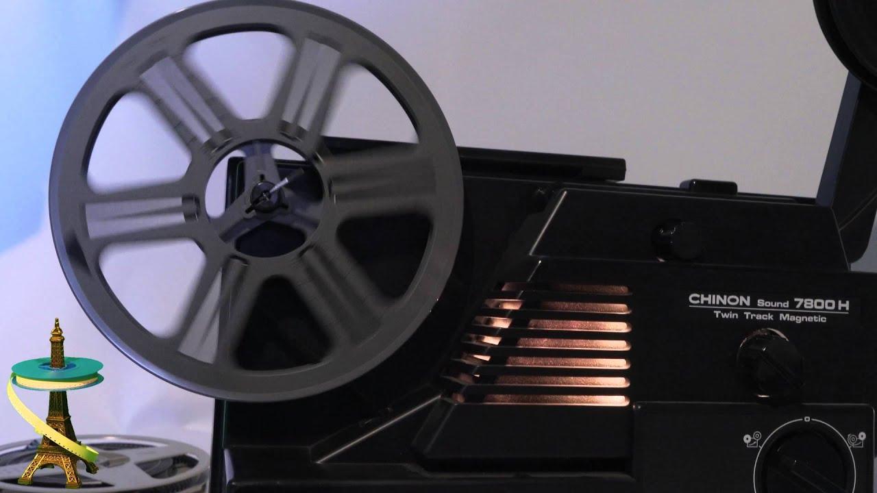 projecteur super 8 sonore chinon sound 7800h youtube. Black Bedroom Furniture Sets. Home Design Ideas