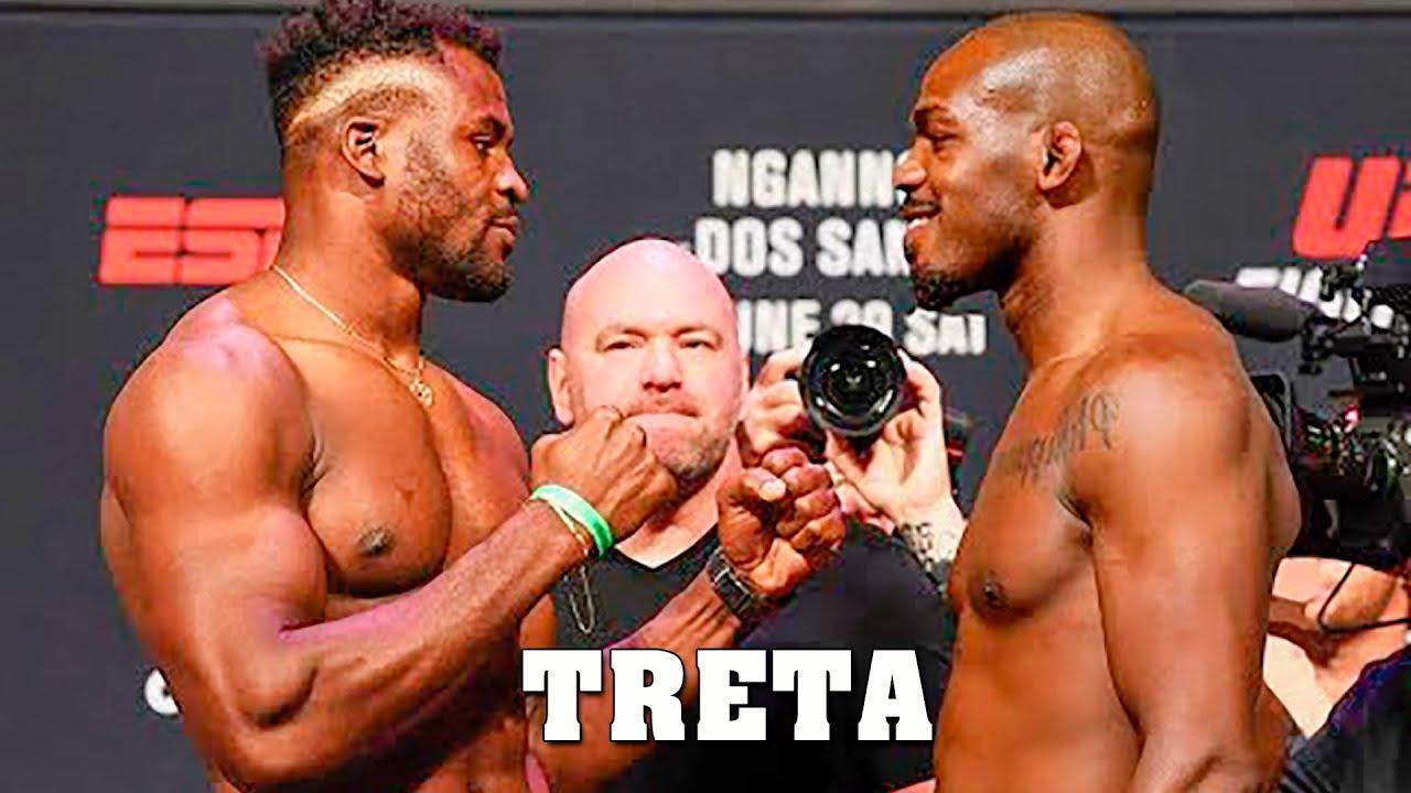 A TRETA ENTRE JON JONES , FRANCIS NGANNOU e UFC ! #cfxsports