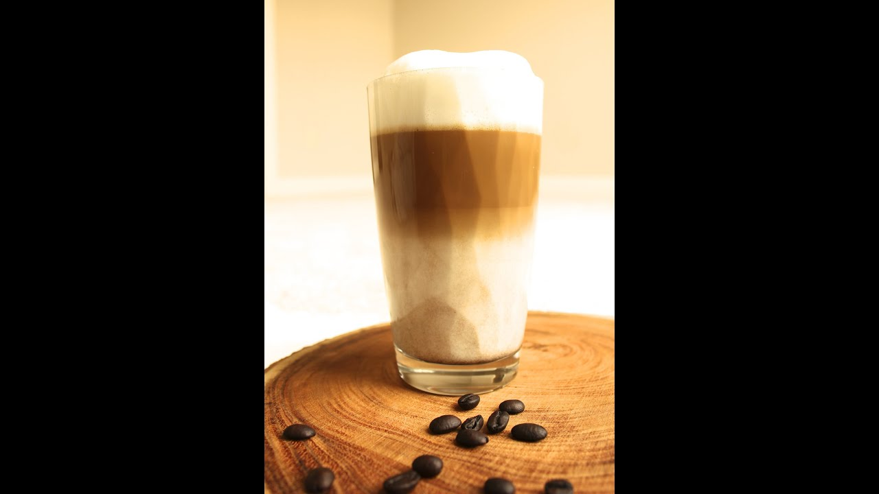 latte macchiato recipe easy home made 3 layers latte italian youtube. Black Bedroom Furniture Sets. Home Design Ideas
