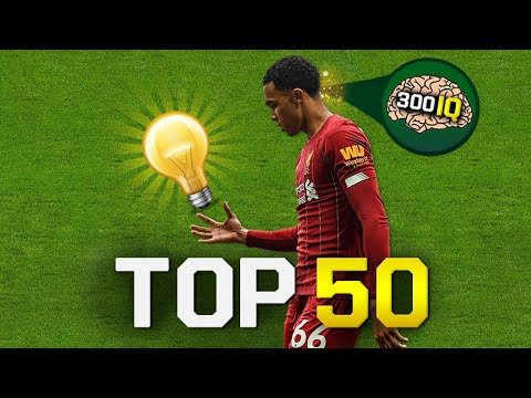 "Top 50 Smart & Genius Plays In Football ""300 IQ Moments"""