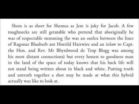 James Joyce || Finnegans Wake Book I Chapter 7 [audiobook]
