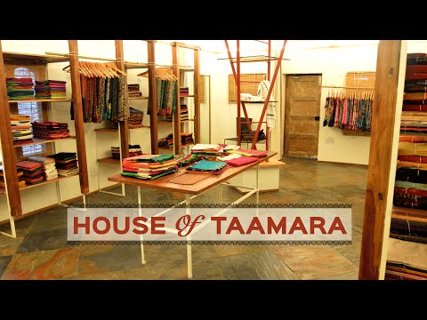 House Of Taamara - A place which has selective hand crafted sarees