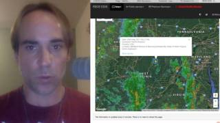 Emergency Broadcast Issues Nuclear Warning in NJ, During Prime Time & Explosions in WV