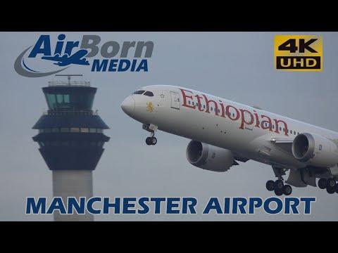Ethiopian Airlines 787 Dreamliner Departing Manchester 11th December 2018 Media/Promotional Flight
