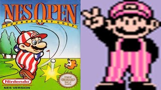 NES Open Tournament Golf - Nes Playthrough