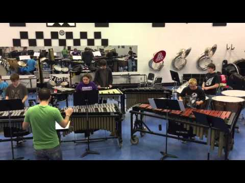 2015 Anderson County Percussion Ensemble Rocket Science by Matt Moore