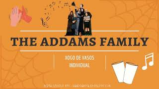 A Familia Addams (xogo de vasos individual)
