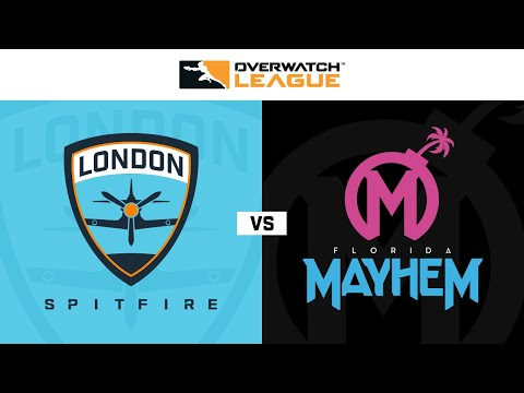 Florida Mayhem vs London Spitfire vod