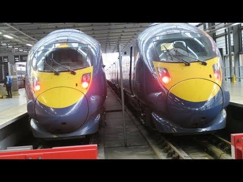 TRAINS AROUND NORTH EAST LONDON  11 01 2018