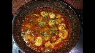 Aloo Anda Gravy Recipe by hamida dehlvi