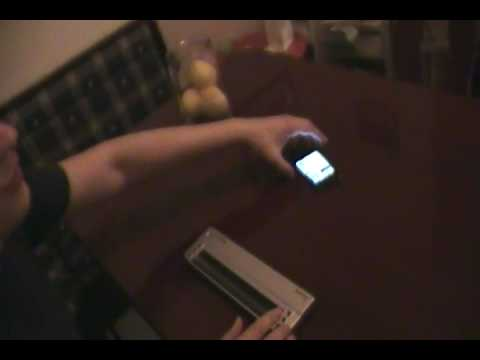 Using iPhone 4 with a Braille display