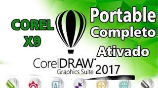 Corel Draw Portable 2017 FUNCIONANDO ATUALIZADO