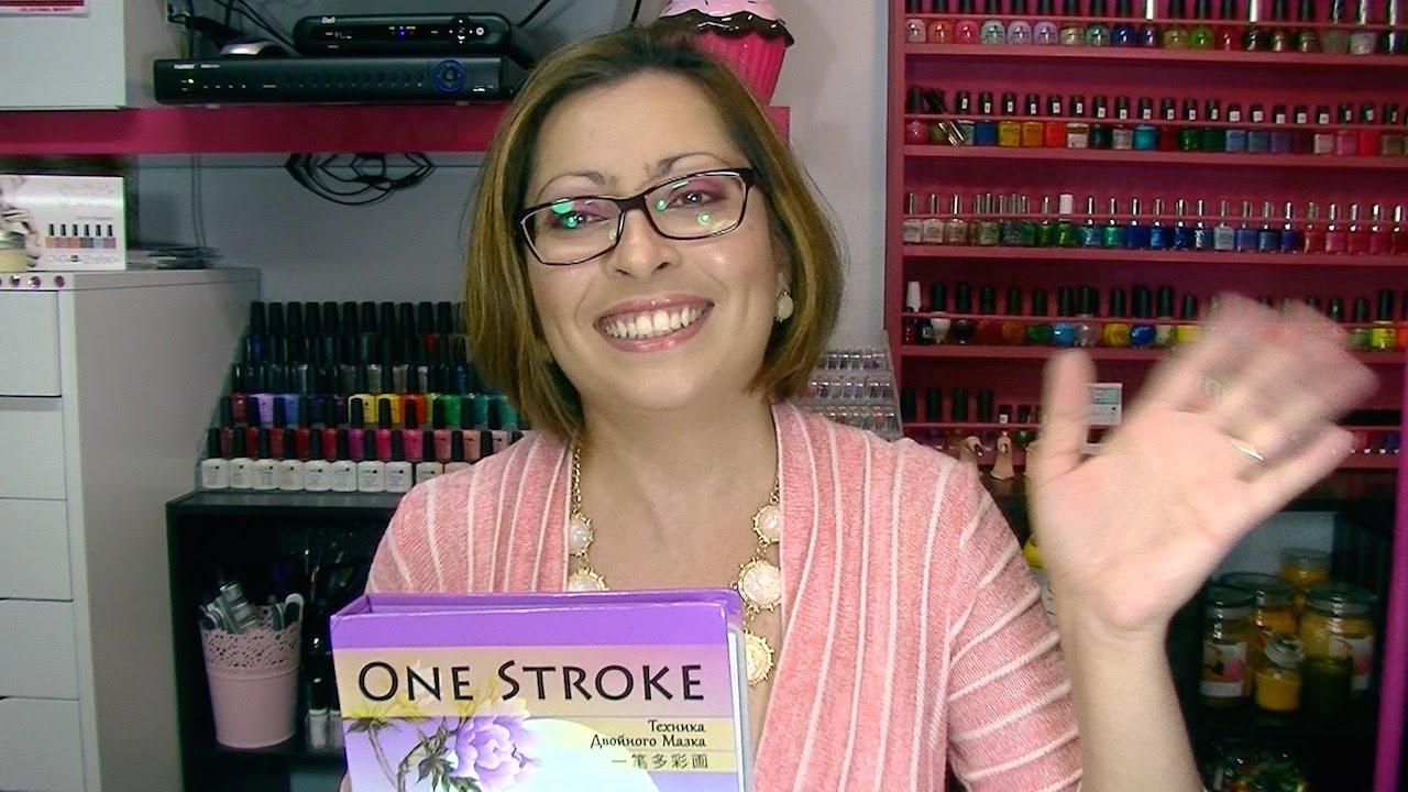 One stroke nail art workbook full video youtube one stroke nail art workbook full video prinsesfo Choice Image