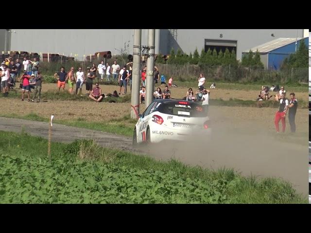 Rajd Śląska 2020 the best of - Maciej Lubiak / Tomasz Borko Peugeot 208 R2