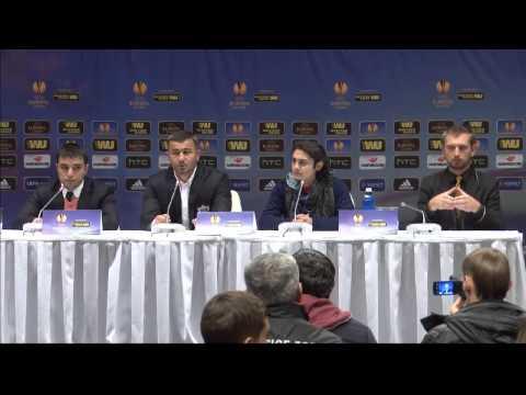 Послематчевая пресс-конференция Гурбана Гурбанова (Днепр-Карабах)