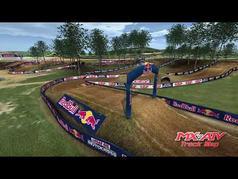 2018 Budds Creek Motocross Animated Track Map
