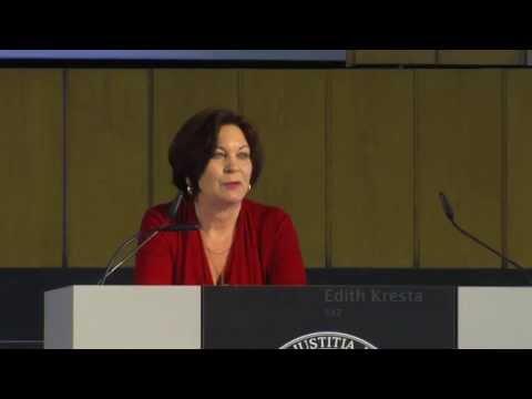 Edith Kresta, KONFERENZ Ethik und Reisen, 13. Juni 2013 (engl.)