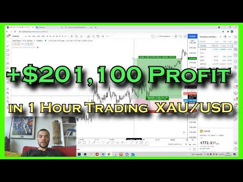 How I made $201,100 in 1 hour TRADING FOREX on GOLD (XAU/USD)