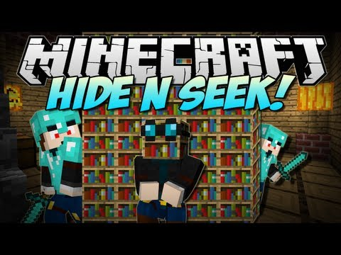 Minecraft | HIDE N SEEK! W/FaceCam! | Minigame