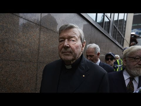 Cardinal George Pell faces court over historical sexual offence charges.