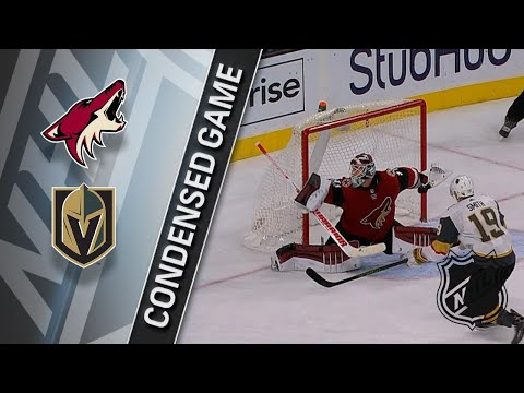 12/03/17 Condensed Game: Coyotes @ Golden Knights