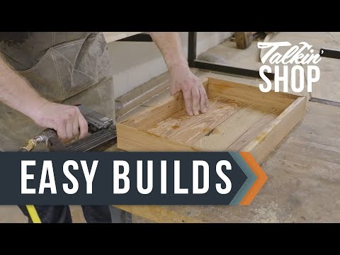 2 Simple Woodworking Projects - Talkin' Shop - HGTV