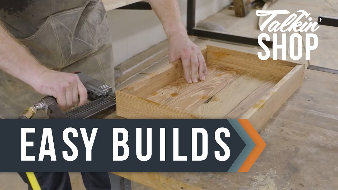 2 Simple Woodworking Projects Talkin Shop Hgtv Youtube