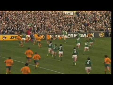 Ireland v Wallabies Highlights (1984 Grand Slam)
