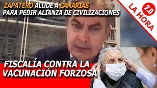 ZAPATERO, siniestro, PIDE OTRA ALIANZA DE CIVILIZACIONES EN CANARIAS