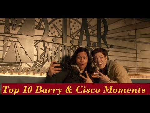 Top 10 Barry & Cisco Moments