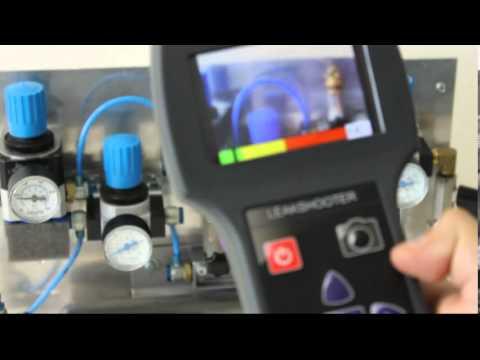 Ultrasonic leak detection camera