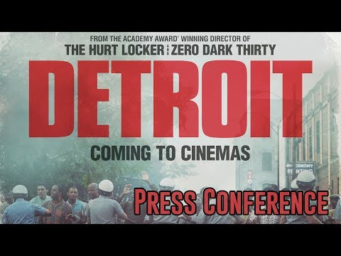Detroit Press Conference in Full - John Boyega / Will Poulter / Kathryn Bigelow