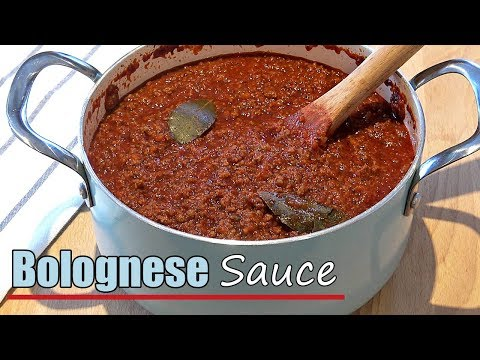 Easy Bolognese Recipe (the BEST Pasta Lasagna Meat Sauce)