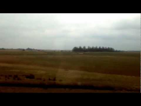 Train ride from Norden to Emden, Germany