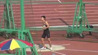 ABC男子共通円盤投 決勝 第46回ジュニアオリンピック 4位