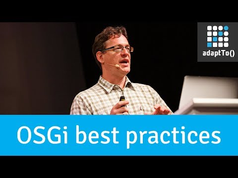 OSGi Best Practices