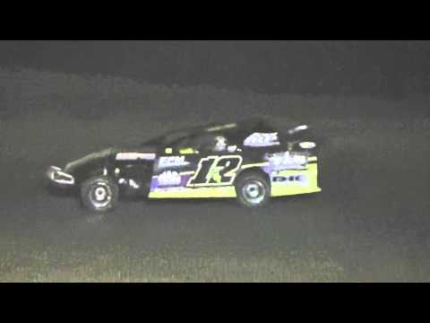 Ark La Tex Speedway Limited modified A feature part 2 9/26/15